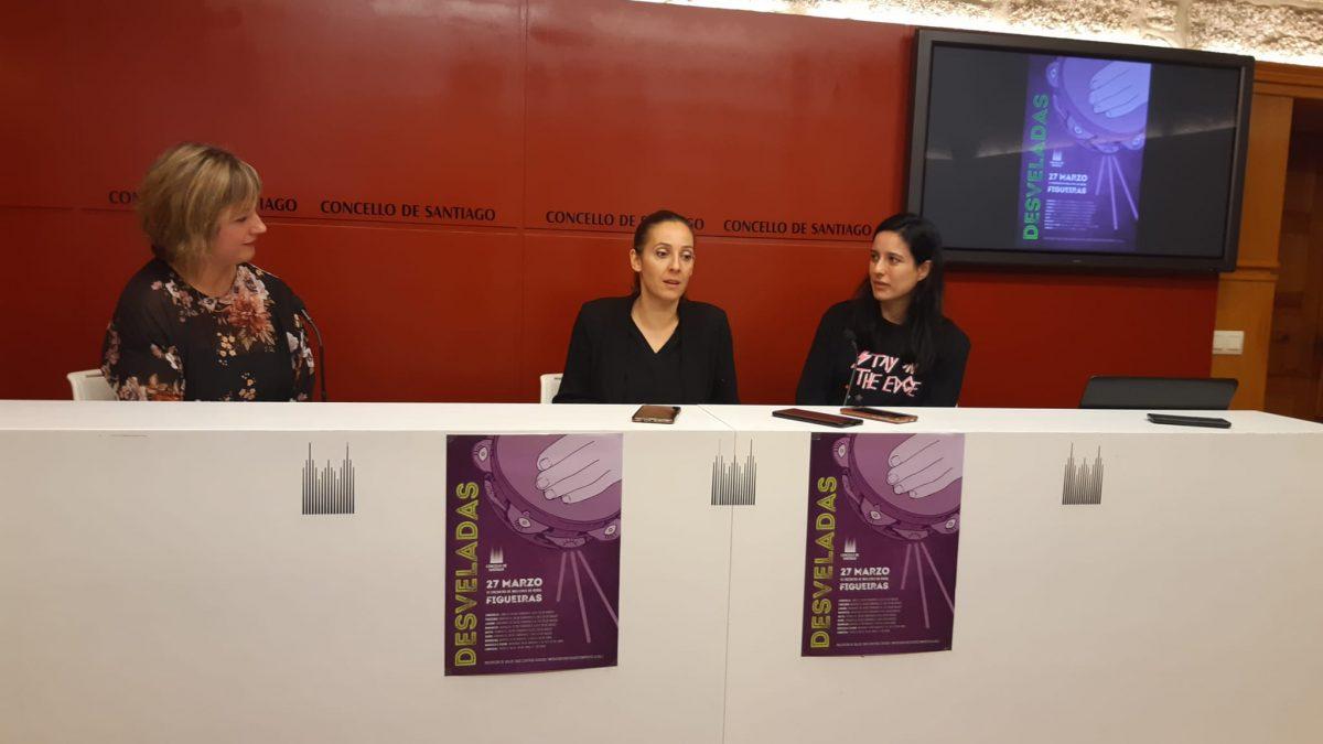 A concelleira Noa Díaz, durante a presentación do programa Desveladas